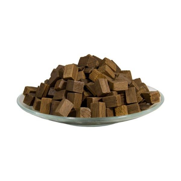 Дубовые кубики (средний обжиг) 15X15мм, 100 гр