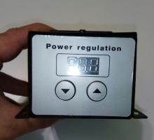Регулятор 5 кВт 220 В с кнопками